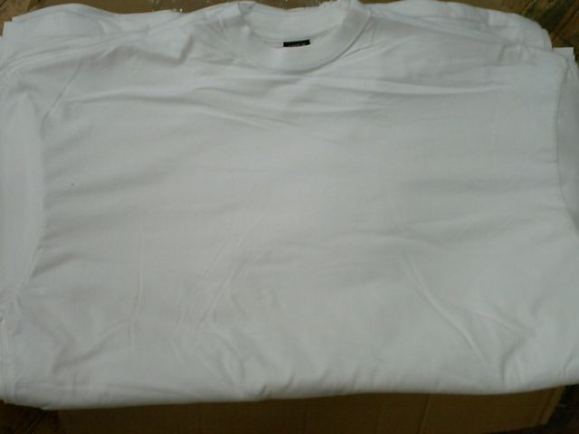 White Short Sleeve T Shirts S-XL
