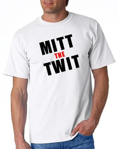 6 pcs Mitt the twitt campaign tshirts