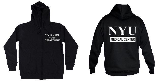 Nyu Medical Center Hoody Sweat Shirts Hoodie